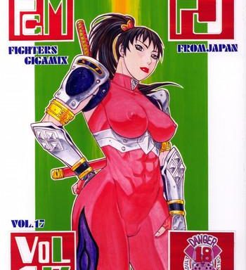 fighters gigamix vol 17 cover