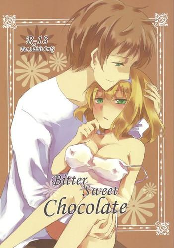 bitter sweet chocolate cover