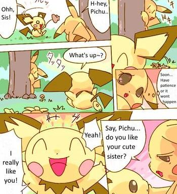 pikachu kiss pichu cover